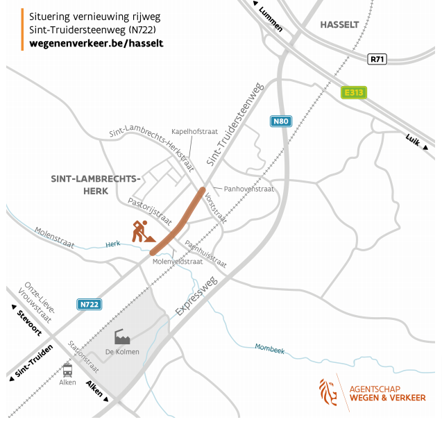 Vernieuwing-wegdek-Sint-Truidersteenweg-in-dorpskern-Sint-Lambrechts-Herk